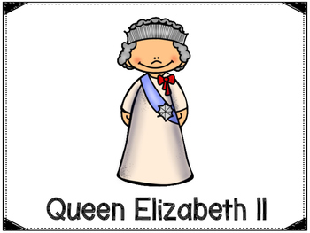 Queen Elizabeth II  Graphic Organizers