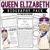 Queen Elizabeth Biography Pack (Women's History)