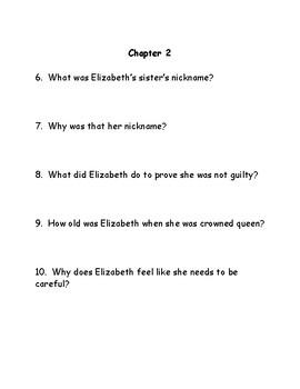 Queen Elizabeth Novel Study