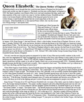 Queen Elizabeth: The Queen Mother Biography