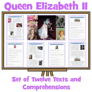 Queen Elizabeth's 90th Birthday - 10  Information Sheets a