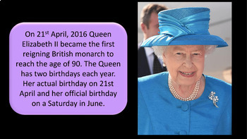 Queen Elizabeth's 90th Birthday Presentation