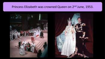 Queen Elizabeth II Simple Text Presentation