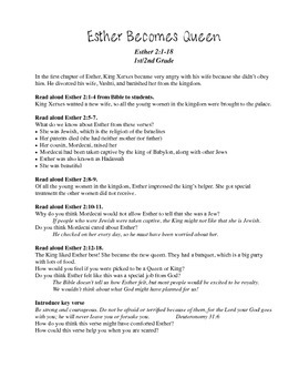 Queen Esther Bible Study