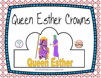 Queen Esther Crowns Freebie
