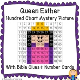 Queen Esther (Women of the Bible) Hundred Chart Mystery Picture w/ Bible Clue