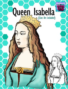 Queen Isabella Clipart - Realistic Image