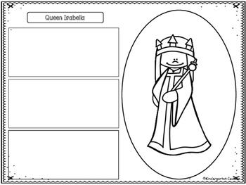 Queen Isabella Graphic Organizers