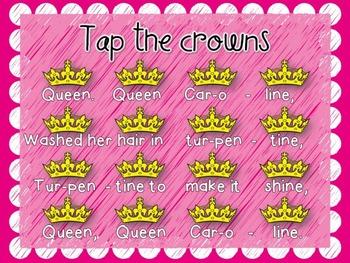 Queen, Queen Caroline {A Song to Teach Ta and Titi}