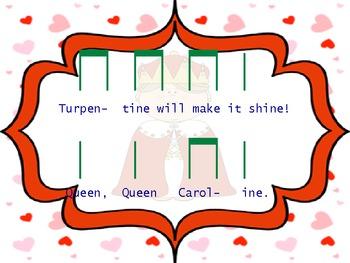 """Queen, Queen, Caroline: A chant to teach """"ta and ti ti"""""""