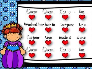 Queen Queen Caroline - ta & ti-ti practice