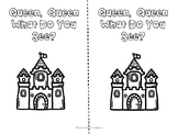 Queen, Queen What Do You See? (Emergent Reader for pre-k/k)