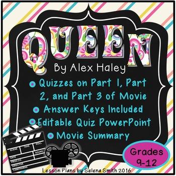 Queen by Alex Haley (movie)