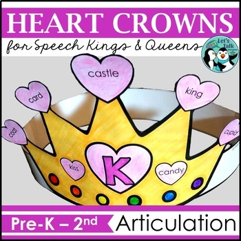 Queen of Hearts - Articulation Crowns