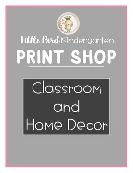 Queen of the Class Little Bird Kindergarten Printshop