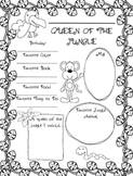 Queen of the Jungle All About Me Poster