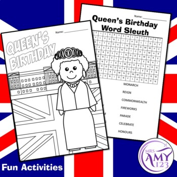 Queen's Birthday Activities