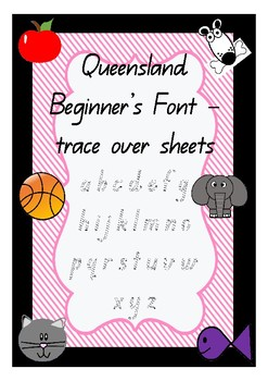 Queensland Beginner's Font Trace Over Mats