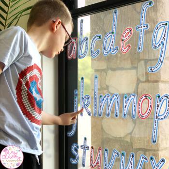 Queensland Beginners Write & Wipe Alphabet and Numbers Set