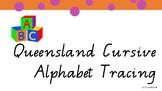 Queensland Cursive Font Alphabet Tracing
