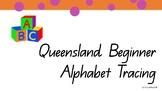 Queensland Beginning Font Alphabet Tracing