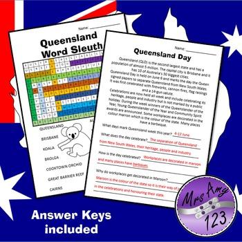 Queensland Day Activities