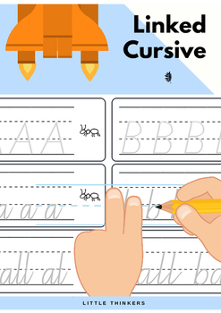 Queensland Linked Cursive Practice Strips