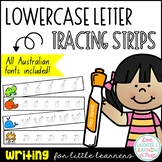 Queensland Print Handwriting Cards {Lowercase Letters}