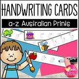 Lowercase Letter Handwriting Strips {Australian Fonts}