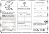 Queensland Year 1 Homework Set for Unit 2 English and Maths