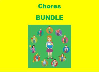 Quehaceres (Chores in Spanish) Bundle