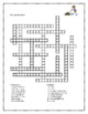 Quehaceres (Chores in Spanish) crossword