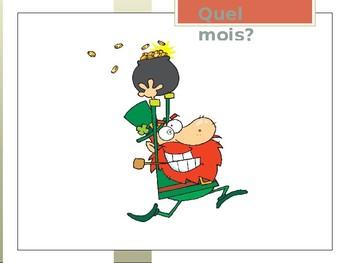 Quel Mois/What Month Lesson Activity