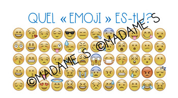 Quel emoji es-tu? / Which emoji are you?