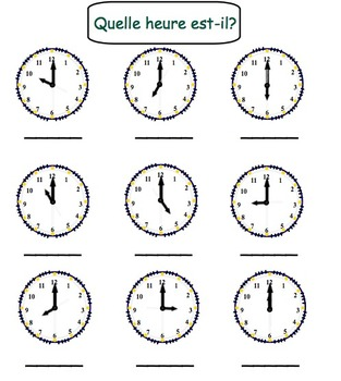 Image Result For Math Clocks