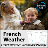French Weather - Vocabulary Package