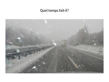 Quel temps fait-il? et les saisons