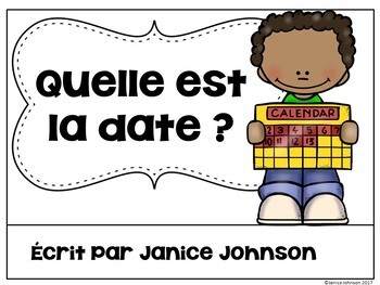 Quelle est la date ? {Giving the Date & French celebrations} & Vocabulary Pack