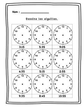Quelle heure est-il ? Centres et activités