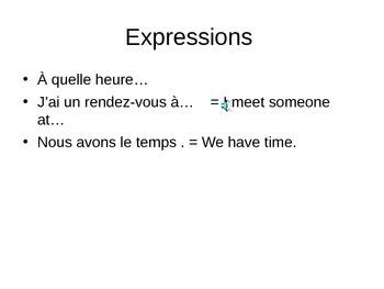 Quelle heure est il? PPPt Discovering French Bleu Unit 2