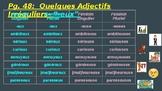 Quelques Adjectifs Irreguliers