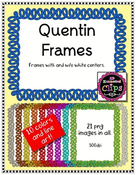 Quentin Frames - Clip Art