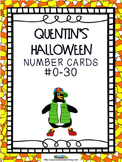 Pumpkin Math Number Cards to 30