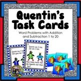 Penguin Word Problem Task Cards