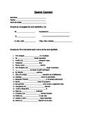 Querer Pop quiz/Exam