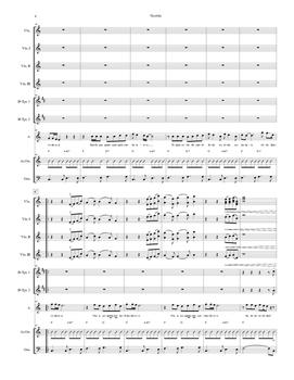 Mariachi: Querida-Score