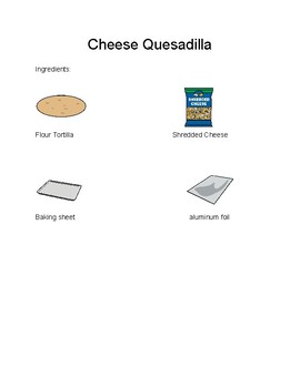 Quesadilla-Visual Recipe