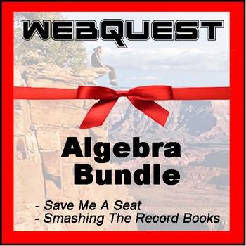 Webquests - Quest For Knowledge - Algebra Bundle