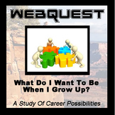 Webquest - Quest For Knowledge - What Do I Want To Be When I Grow Up?