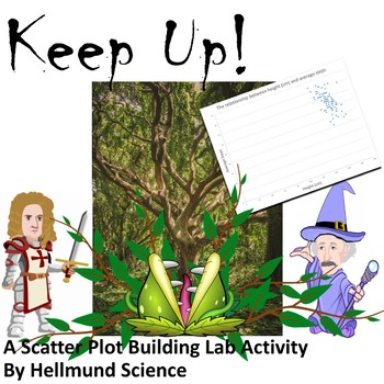 Quest- Keep Up!, A Graphing and Scatter Plot Activity